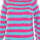 Теплый вязаный свитер,кофта