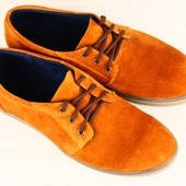 Туфли натуральный замш р. 40-45