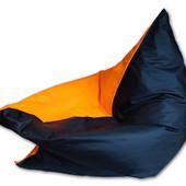 Кресло-мешок, подушка Шахтер 120х140 см из ткани Оксфорд, кресло-мат