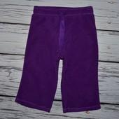 Фирменные мягкие спортивные штаны флисовые 12 - 18 месяцев Old Navy Олд Неви очень крутые