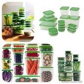 Набор судочков-контейнеров для хранения и заморозки пищи Ikea Pruta от швейцарского произв .(34 пр.)