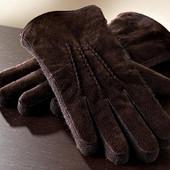 Мужские  замшевые перчатки ТСМ Tchibo Германия