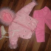 Зимний тёплый комплект: Куртка *Wojcik* + Штанишки *Gloria jeans* + Шапочка