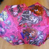 Зонт детский Monster High Монстер хай зонтик трость