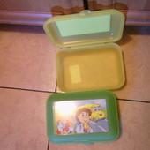 Пластиковый контейнер Ланч Бокс для завтрака в школу