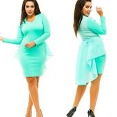 Стильные платья! Супер цена! Разные цвета! Размер 42-54