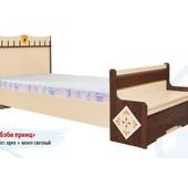 Гарантия 2 года! Кровать Бэби принц без ящиков 90х190 см, укр. производство