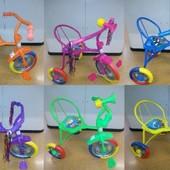 Велосипед Гномик детский трехколесный на 1, 2, 3 года
