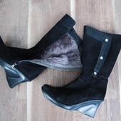 Отличные сапожки натуральные, зима (сапоги, чоботи, чобітки)