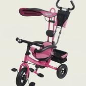 Super Trike Детский трехколесный велосипед VT1403A, розовый