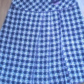 очень теплая юбка р 48 .без ньюнсов!