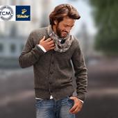 Эффектная твидовая кофта для мужчин от TCM tchibo, Германия, размер L европейский