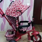 Велосипед трехколесный Tilly Zoo-Trike kрасный (вт-ст-0005 red)