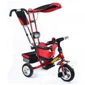 Классический трёхколёсный велосипед для малышей Combi Trike Tilly 0002, красный