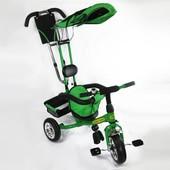 Детский трехколесный велосипед Tilly Combi Trike 509  (зеленый)