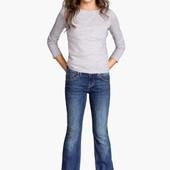 Джинсы клеш от H&M 13-14лет рост 164см