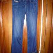 Женские джинсы слим синий W 31 L 32 Diesel Дизель оригинал Италия