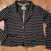 Пиджак полосатый от pull&bear! p.-l