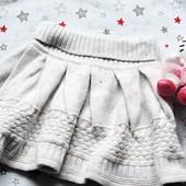 Красивая теплая юбка YD на 6-7 лет 116-122 см.