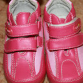 ботинки туфли на весну девочке МХМ 22 р. 14.5 см