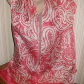красивый нежный шарф 100% шёлк