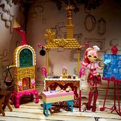 Ever After High sugar coated kitchen with Ginger breadhouse doll Набор Джинджер бредхаус с кухней