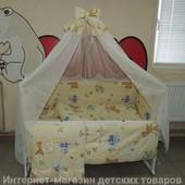 """Расцветки! 9 в 1 - постельное белье в кроватку новорожденного """"Бэмби"""""""