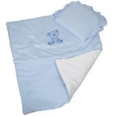 Комплект в коляску (Одеяло с подушкой) DuetBaby Жемчужина