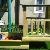 Пісочниця будинок для дітей чи в садок