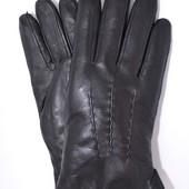Мужские кожаные перчатки на натуральной овчине.
