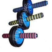 Ролик Колесо для пресса. 2 вида. Тренажер, бедра, спина, брюшные мышцы.