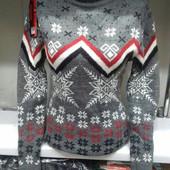 Супер теплый свитер Турция. В расцветках. Размеры: 44-46 {