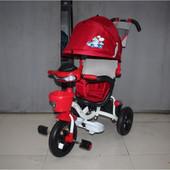 Велосипед трехколесный на надувных колесах Mars Mini Trike Красный 960-2
