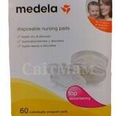 Прокладки для грудей Medela disposable nursing pags по штучно