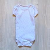 Нежный бодик в горошек для девочки. TU. Размер 9-12 месяцев. Состояние: идеальное