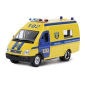 Технопарк Автомодель Газель Милиция, полиция, скорая помощь, Реанимация свет звук новые