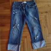 Отличные джинсовые бриджи
