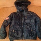 Демисезонная куртка для мальчика на 4 года