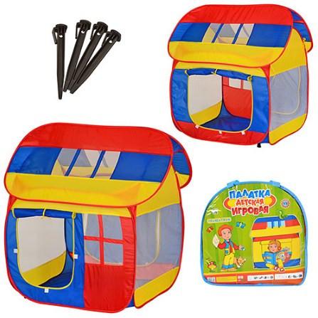 Детская игровая палатка домик mini house 0508: размер 110х92х114см фото №1