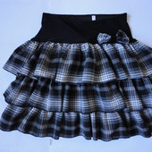 Школьная юбка для школы 8-10 лет