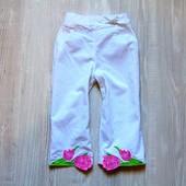 Стильные лёгкие микровельветовые штаники для девочки. Размер не указан, смотрите замеры.