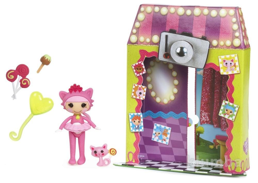 Mini lalaloopsy silly fun house doll - jewel sparkles мини блестинка лалалупси фото №1