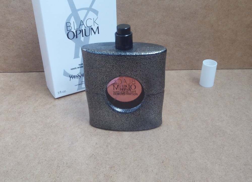 Тестер yves saint laurent opium black 90мл. фото №1