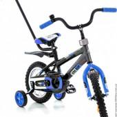 """Велосипед Azimut 12"""" Stitch A Py Сине-черный, 00000095354"""