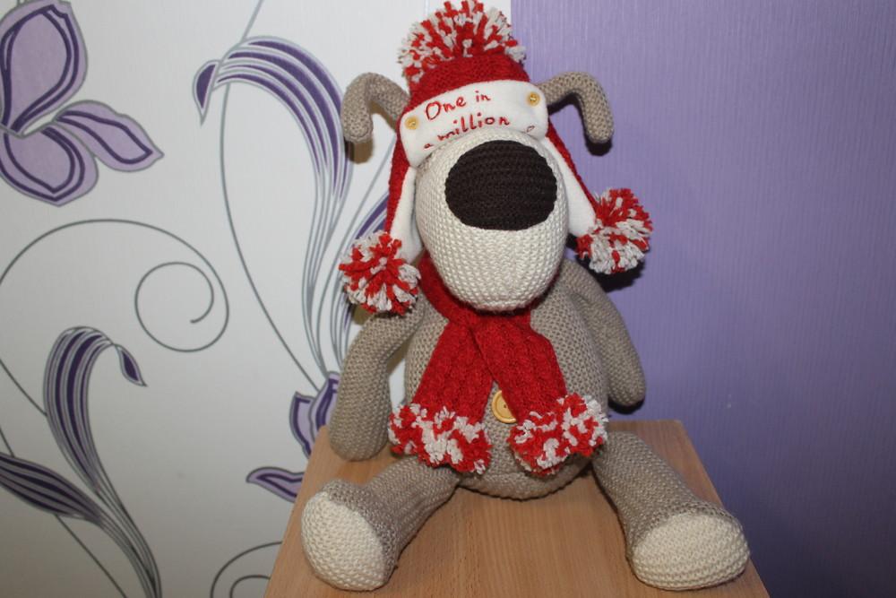 Редкая мягкая игрушка собака буффи boofle англия оригинал фото №1