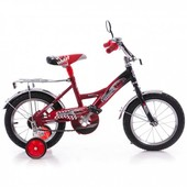 Доставка! Гарантия! велосипед от 3 лет, Azimut Mustang, диаметр колес 14, феррари красный, 000000933