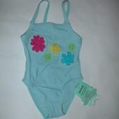 Фирменный купальник на малышку 6-12 месяцев