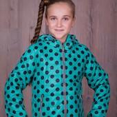 Девичья,демисезонная куртка 128-152р