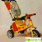 Доставка! трехколесный велосипед колеса пена,Azimut вс-15 An Safari желтый, 00000102245