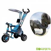 Доставка! Трехколесный велосипед, колеса пена, аzimut вс-15 An Safari Синий, 00000102244